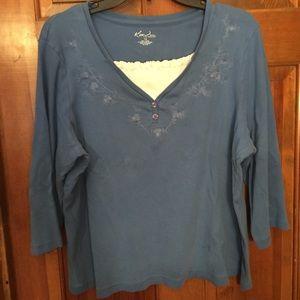 Blue shirt size XL