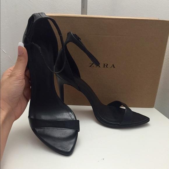 b2e73c3a67b ZARA barely there minimalist shoes heels. M 56c61b49c284569ccc006907