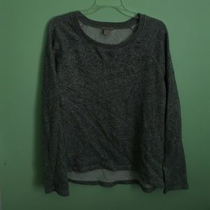 H&M Plus Gray Sweatshirt