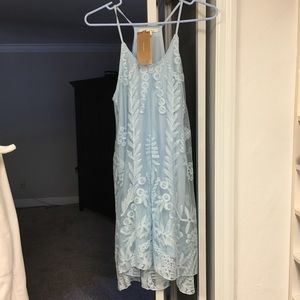 Gorgeous baby blue dress