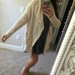 New BOUTIQUE drapey slouchy soft cardigan sweater