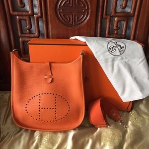 where are brighton purses made - Hermes - Hermes Evelyne PM in Brown w/Silver Hardware from Laura\u0026#39;s ...