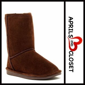 BP Nordstrom Brand A Bound Shoes - Suede BOOTS Genuine Shearling Lined