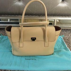 Tiffany & Co. Handbags - Tiffany & Co. beige bag.