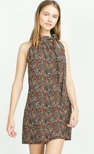ZARA Floral Printed Dress