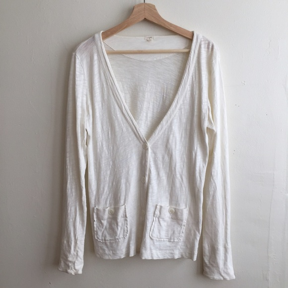 J. Crew - J.Crew light Cotton boyfriend Cardigan from Luna ...