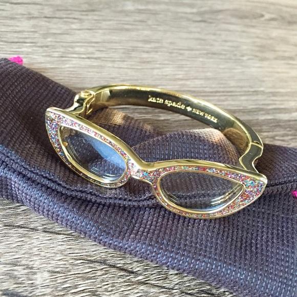 59f4eb15483 Kate Spade Goreski Lookout Glasses Bracelet