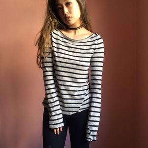 A.L.C. Tops - ALC Britone Striped Tee