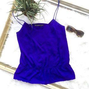 Final PriceZara blue cropped cami style top