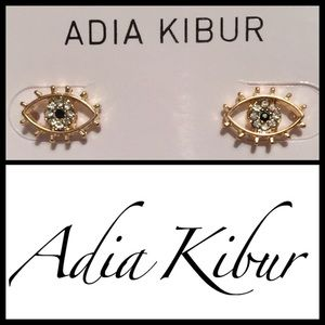 "Adia Kibur Jewelry - Adia Kibur ""All Seeing Eye"" Earrings. Price firm."