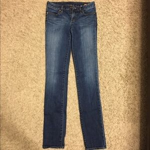 Super skinny Tory Burch jeans