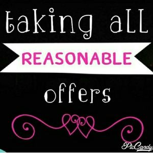 Other - Willing to accept reasonable offers.
