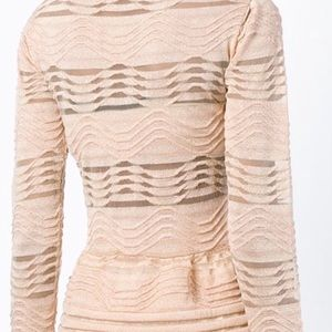 Missoni Tops - Missoni  wave knitted top.