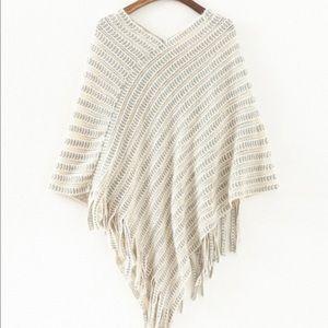 Jackets & Blazers - Brand New Warm Knit Cape/Coat/Jacket