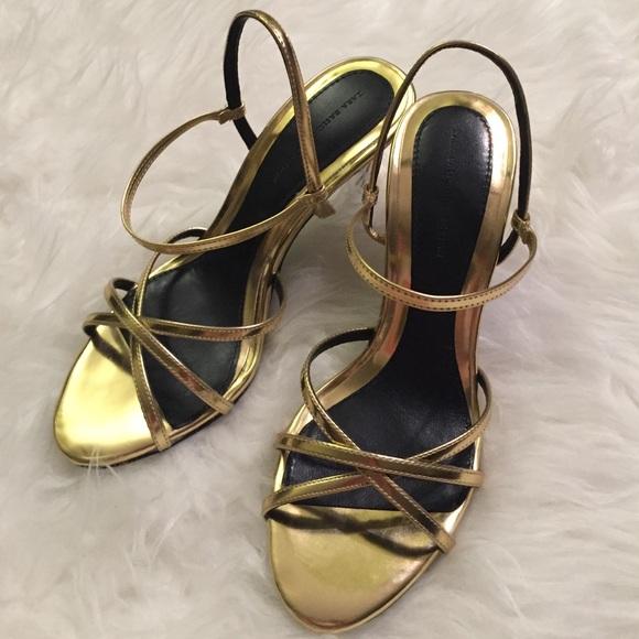 f296b2570 Gorgeous Zara Gold strappy sandals! M_56c692bc01985ed514008d4c