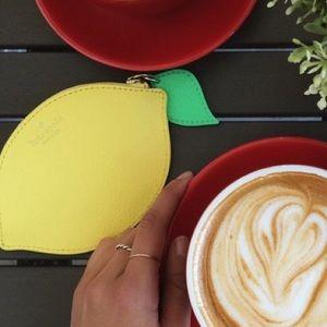 kate spade Handbags - Kate Spade Yellow Lemon Coin Purse