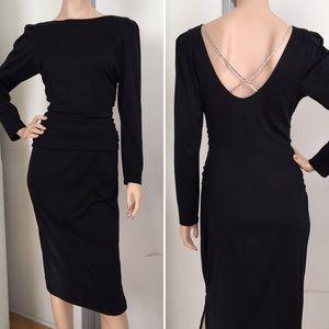 Diane von Furstenberg Dresses & Skirts - Vintage DVF Black Cocktail Dress