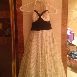 Lip service sz small polka dot dress
