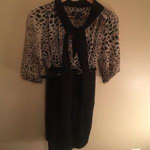 Dresses & Skirts - Sexy cheetah work dress