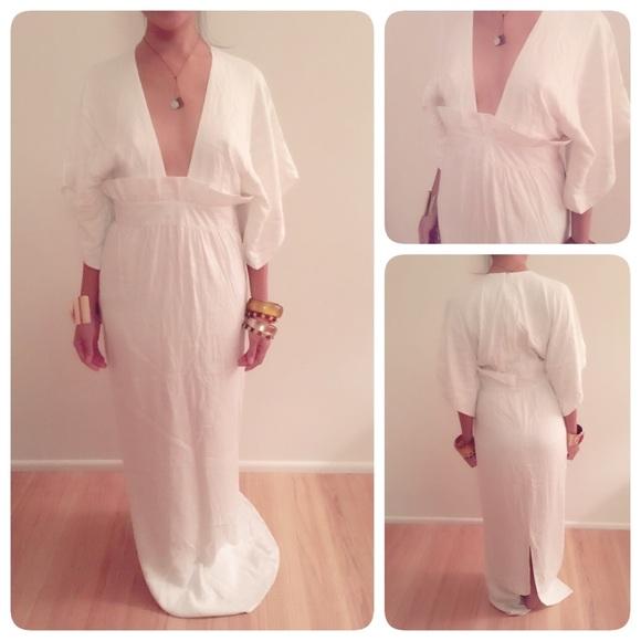 Katie May Dresses & Skirts | Sale Boho Kimono Festival Or Wedding ...