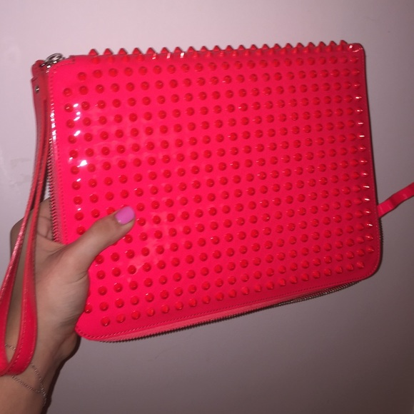 91d1bc7e89d Christian Louboutin Spiked iPad cover