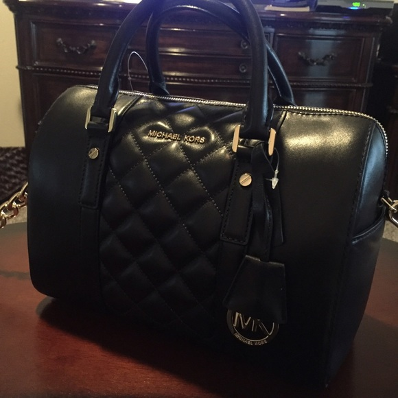 174f816f63e6 Michael Kors Quilted Grayson