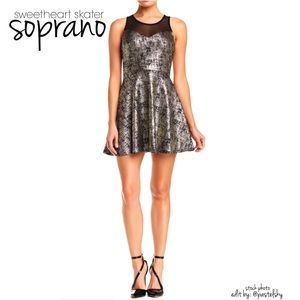 Soprano Dresses & Skirts - 🆕 SOPRANO sweetheart skater dress