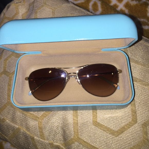 86030dde1c13 Tiffany & Co. Accessories | Authentic Tiffany Co Twist Bow Aviators ...