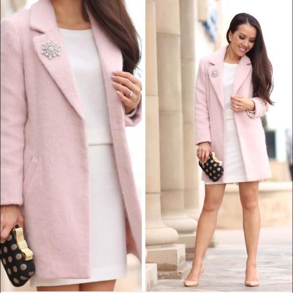 forever 21 blush pink coat M from Megan's closet on Poshmark