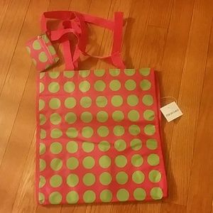 ❌ FINAL PRICE ❌ Polka Dots-Cute Tote w/ coin purse