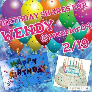 Other - Happy Birthday Wendy🎂🎂🎂🎂