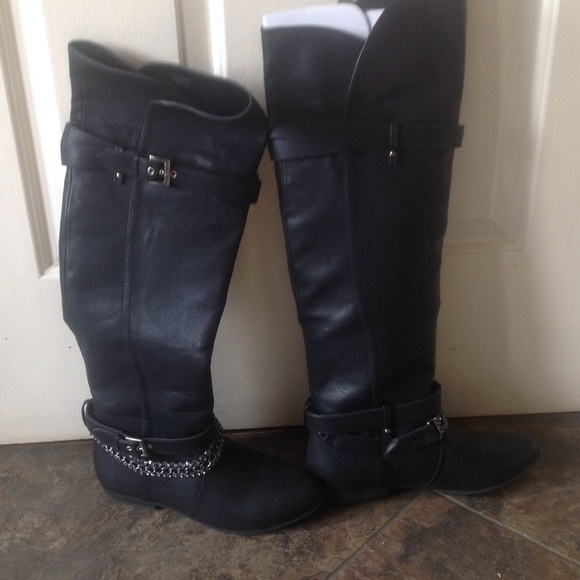 Not Rated - Not rated over the knee black boots never worn from ...