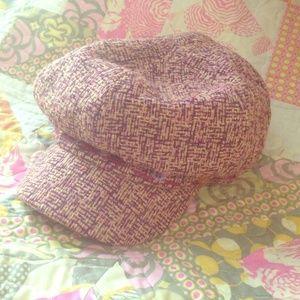 lei Accessories - Devil Wears Prada Girly tweed newsboy cap