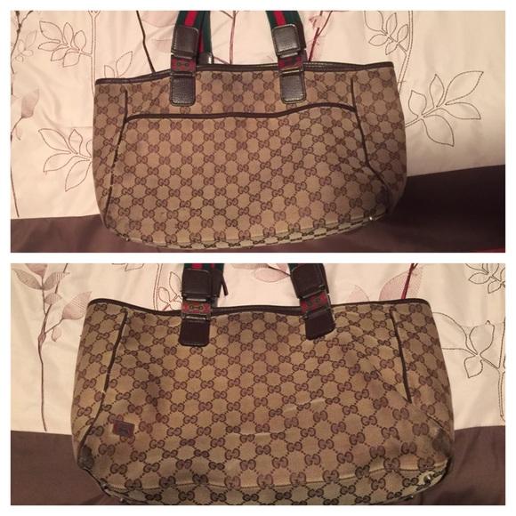 08689934208 Gucci Handbags - Gucci Beige Signature
