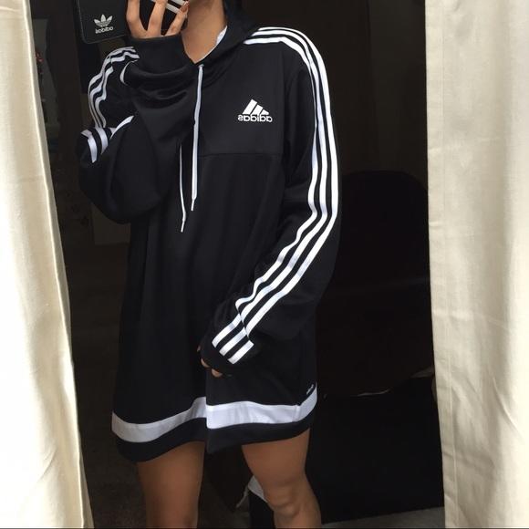 3b21e7fc9 Adidas Jackets & Coats | Black Tiro Hoodie Large | Poshmark
