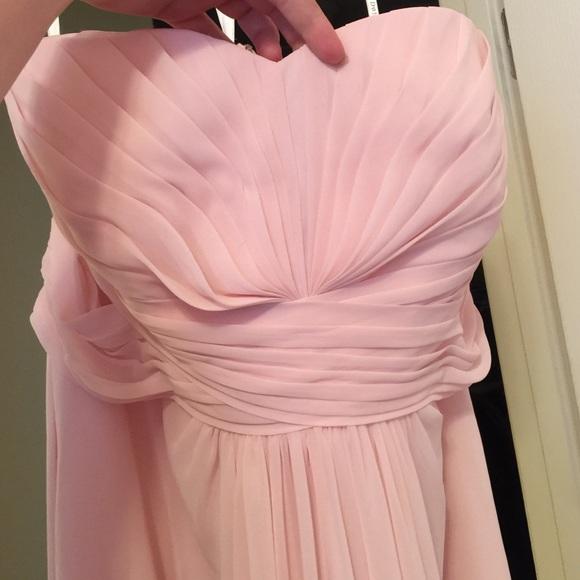 David\'s Bridal Dresses   Size 20 Davids Bridal Blush Dress   Poshmark