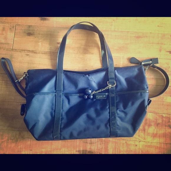5cd29379402 Agnes b Handbags - Agnes b nylon shoulder bag