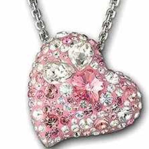 ecd5f8cc0 Swarovski Jewelry | Authentic Alana Heart Pendant | Poshmark