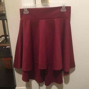 High / Low Skater Skirt