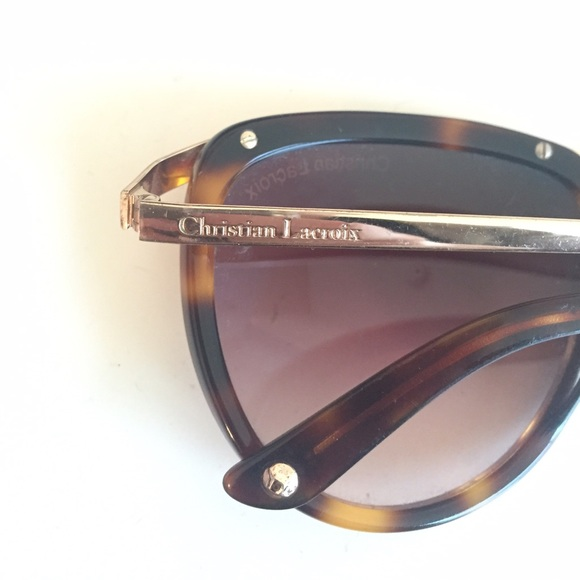 84 off christian lacroix accessories christian lacroix sunglasses from cha - Christian lacroix accessories ...