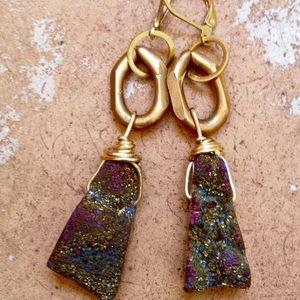 Beltshazzar Jewelry Jewelry - Beltshazzar Jewels Mystic Druzy Earrings