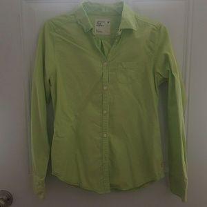 Lime green dress shirt