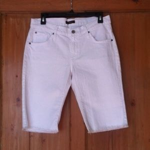 NWOT James Jeans white board shorts