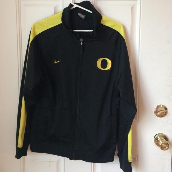 7f6b8f1d6 Nike Jackets & Coats | Oregon Ducks Black Yellow Track Jacket S ...