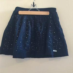 Superdry Dresses & Skirts - A-Line Black Skirt w/Cutout Detailing