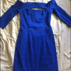 ASOS royal blue dress