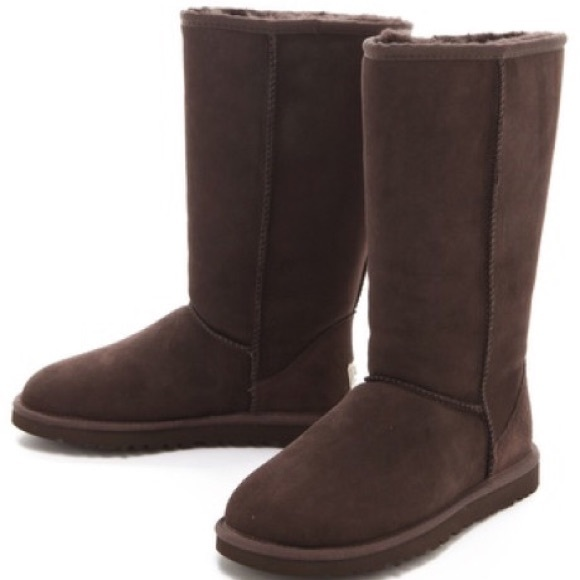39 ugg shoes classic chocolate brown ugg boots