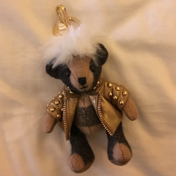 catch buying new outlet on sale Burberry Teddy Bear Key Chain