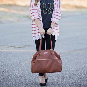 Lily Jade Camel Rosie Diaper Baby Bag