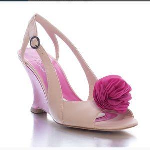 Jen + Kim for Coloriffics Shoes - NWT Jen + Kim for Coloriffics Sweetie Pink Wedge